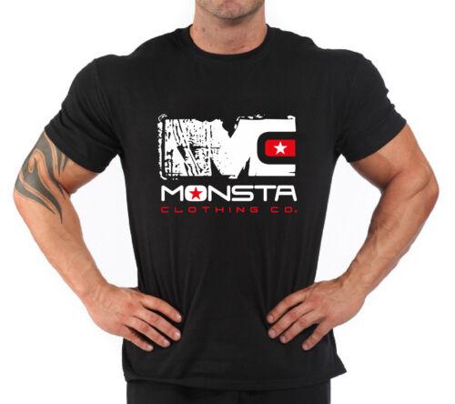 "T-Shirt Bodybuilding Fitness Palestra /""Monsta Clothing/"""