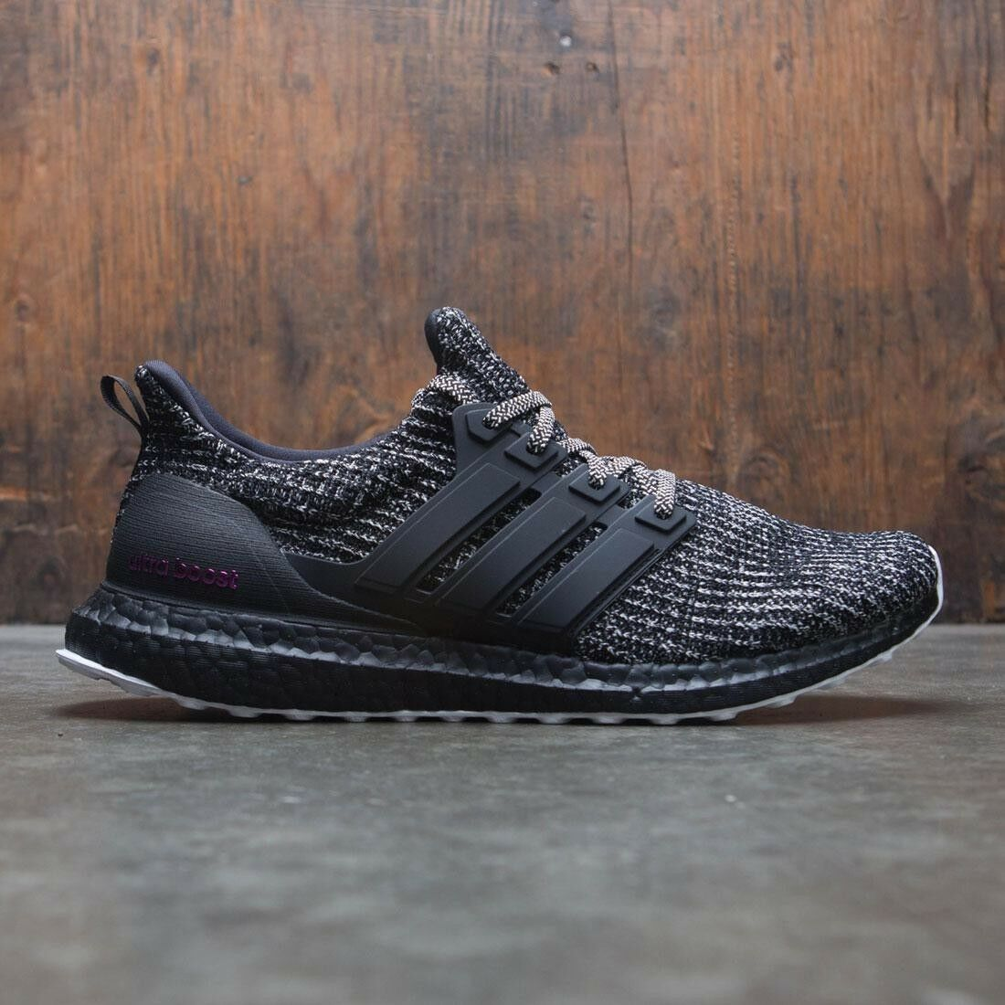 Adidas Ultra Boost 4.0 4.0 4.0 Black White Breast Cancer Awareness Size 12. BC0247 yeezy 60a36a