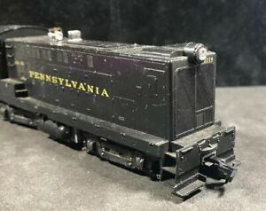 HO-Pennsylvania-Railroad-Diesel-non-motorise-mannequin-100-teste-Lot-W37