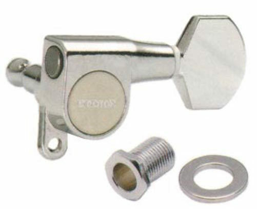 Gotoh SG360-07C Electric Guitar Tuners Chrome 6L - Made in Japan