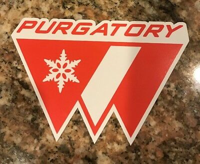 Purgatory Ski Resort Sticker Durango Colorado Skiing Snowboard Mountain Rockies