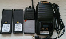 Motorola Mt 2000 Two Way Vhf Radios With Two Batterys And Charger