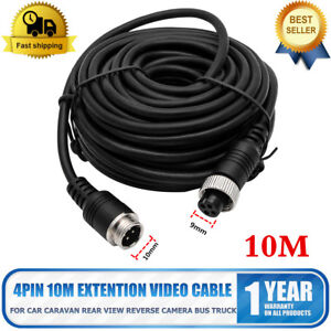 4-PIN-20m-telecamera-di-retromarcia-monitor-retromarcia-cavo-di-estensione-9-36V