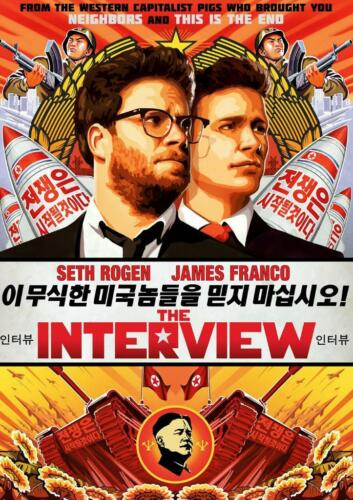 The Interview A3 Poster 2