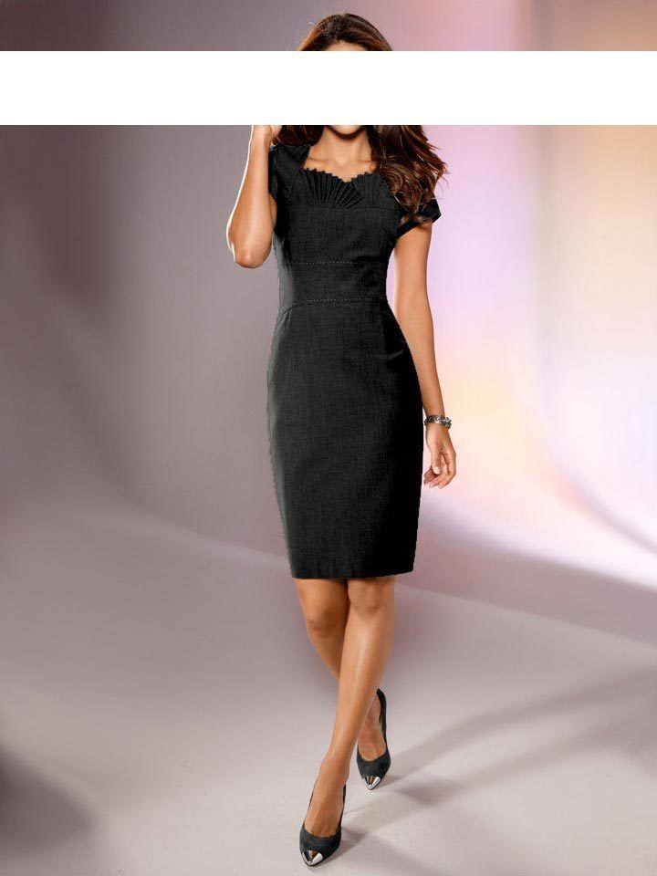 Kleid Mit Dezent Designter Raffinesse Im Sommerlook Class International