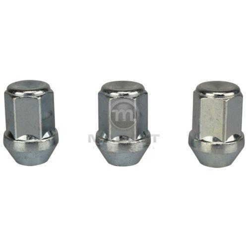 16 tuercas de rueda para galvanizada llantas de aluminio//llantas volvo s40//v40 V m15