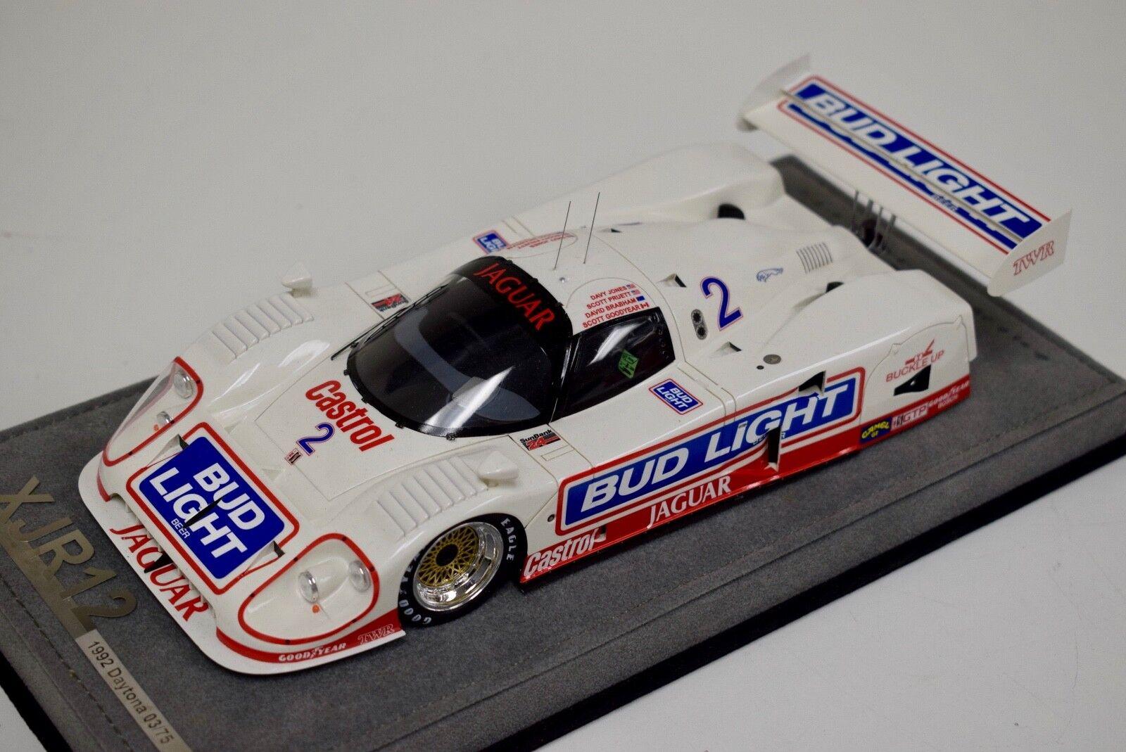 1 18 AB Modells Jaguar XJR12 1992 24 Hours of Daytona voiture  2 DX