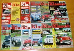 Motor-Klassik-Jahrgang-1994-komplett-Hefte-1-12-Zeitschrift-Automobile-Oldtimer