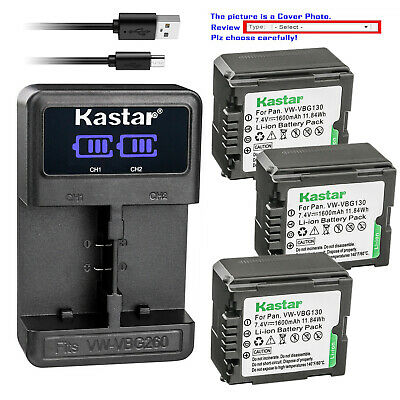 VW-VBG6 Battery Replacement for PANASONIC HDC-SD7 HDC-SD700 HDC-SD707 HDC-SD8K HDC-SD9 HDC-SD9EG-K HDC-SD9EG-S HDC-SD9GK HDC-SDT750 HDC-SDT750K HDC-SX5 HDC-SX5EB-S