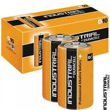Duracell Industrial D LR20 ID1300 Batteries   Box of 10   DUR2200D-B8 MN1300