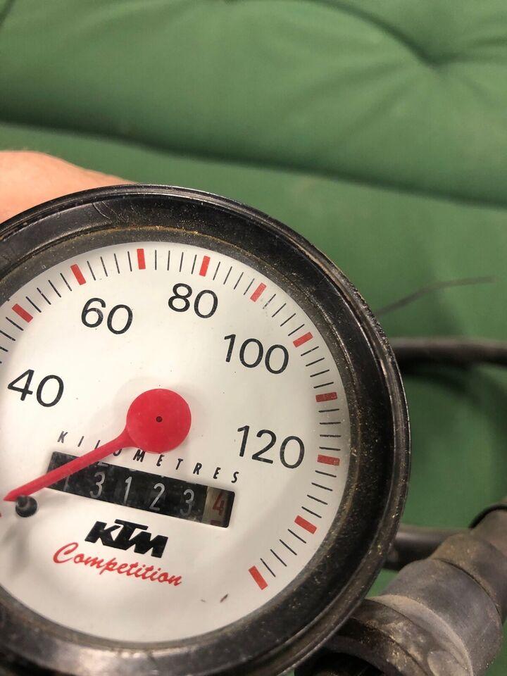 Ktm Ktm lc4 620 sc årg. 1997: Speedometer