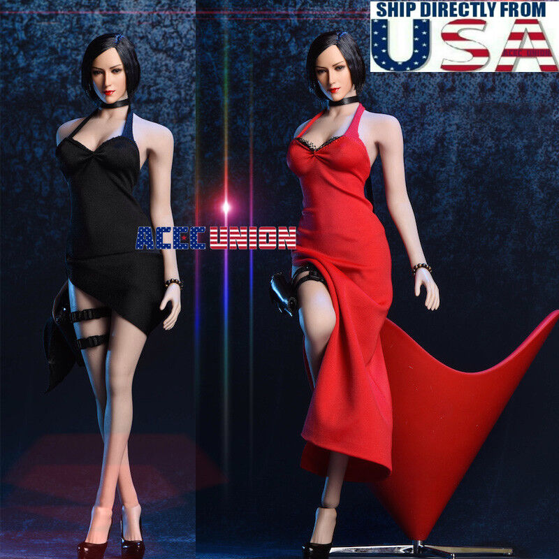 1 6 Ada Wong Resident Evil Dress shoes Accessories For 12  PHICEN HotToys Figure