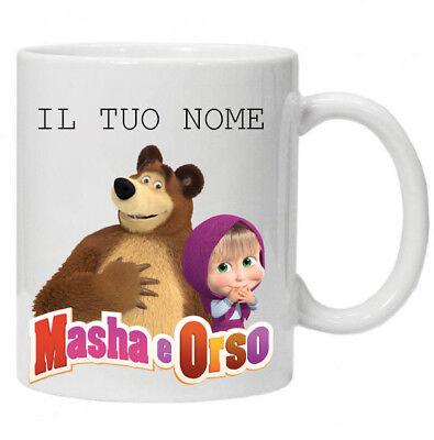 O8b Masha Personaggio in Plastica Rigida MASHA E ORSO CO99801