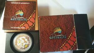 2009P-Discover-Australia-1-King-Brown-Snake-1oz-Silver-Proof-Coin-w-OGP