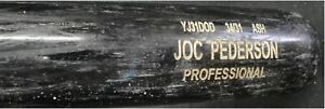 Joc Pederson Official Major League Team Issued Baseball Bat Dodgers Shows USE 15