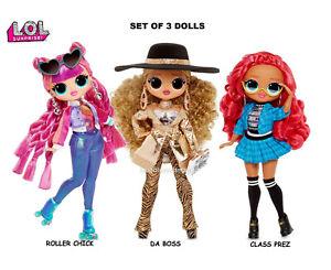LOL-Surprise-Series-3-OMG-Fashion-Dolls-Class-Prez-Da-Boss-Roller-Chick-IN-HAND
