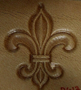 Image Is Loading CRAFTOOL TANDY LEATHER 3D STAMP 8613 00 FLEUR