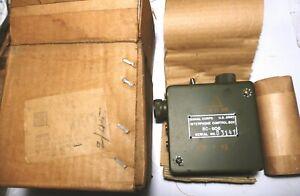 INTERPHONE-BOX-BC606-less-H-Signal-Corps-US-NOS-NIB-guerre-de-Coree-a-bas-prix
