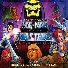 He-Man & The Masters Of The Universe - 2 x CD Complete -Limited 3000 -Shuky Levy