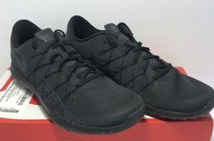3aa2b3fddb5e Image is loading Nike-Mens-Flex-Fury-2-Black-Athletic-Running-