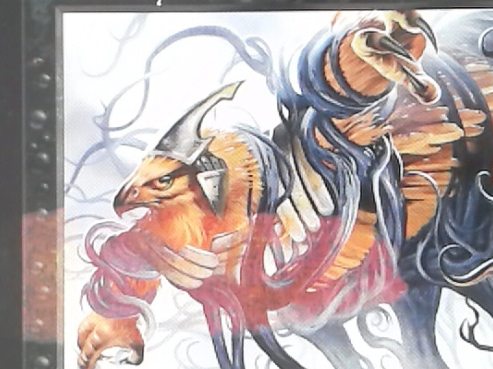 1X Ghastly Demise - Odyssey -    MISPRINT COLOR INK BLOTCH  FREE SHIP OVER 45ca44