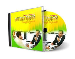 Better Focus Through Hypnosis Hypnotherapy AUDIO CD | eBay