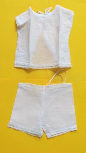 sous vêtements pour poupon ancien d'environ 35/40 cm