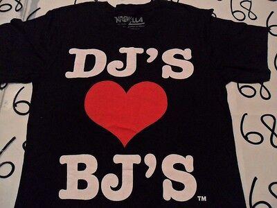 Small- NWOT Krewella Dj's ❤️ Bj's T- Shirt