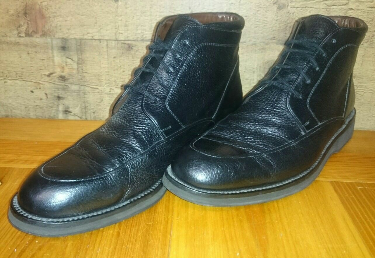 E.T.Wright Since 1876 LEATHER Boots Men's shoes Size 9.5 (made in )