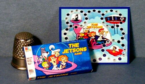 Dollhouse Miniature 1:12 Jetsons Game 1960s retro Dollhouse board game toy