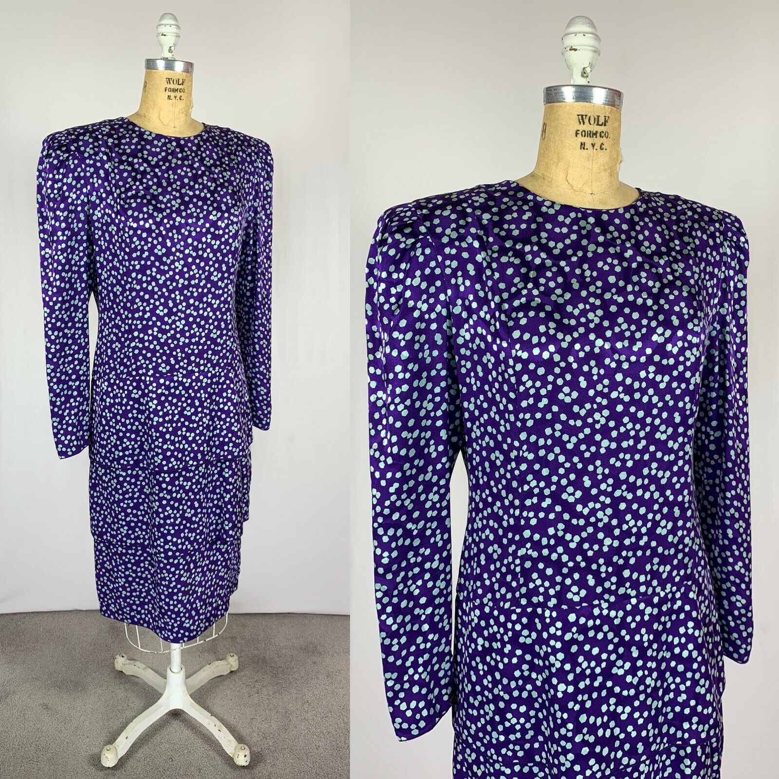 Vintage Maggy London Jeannene Booher Jacquard Sil… - image 6