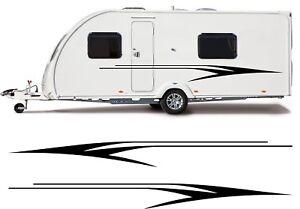 Caravane Arrière Autocollant Vinyle Bürstner Grand Camping-Car