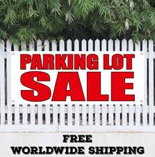 Banner Vinyl Parking Lot Sale Advertising Sign Flag Garage Valet Car Automobile
