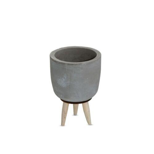 Nadeco zementtopf sur emplâtres Hauteur 15 cm Ø 10 cmcache-pot en cimentbéton