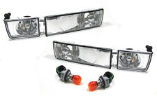 SET OF CLEAR INDICATORS + FOG LIGHTS FOR VW GOLF  MK 3 MK3 III NICE GIFT 91-1997