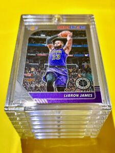 Lebron James NBA HOOPS PREMIUM STOCK 2019-20 NICE GLOSSY LAKERS INVESTMENT Mint!