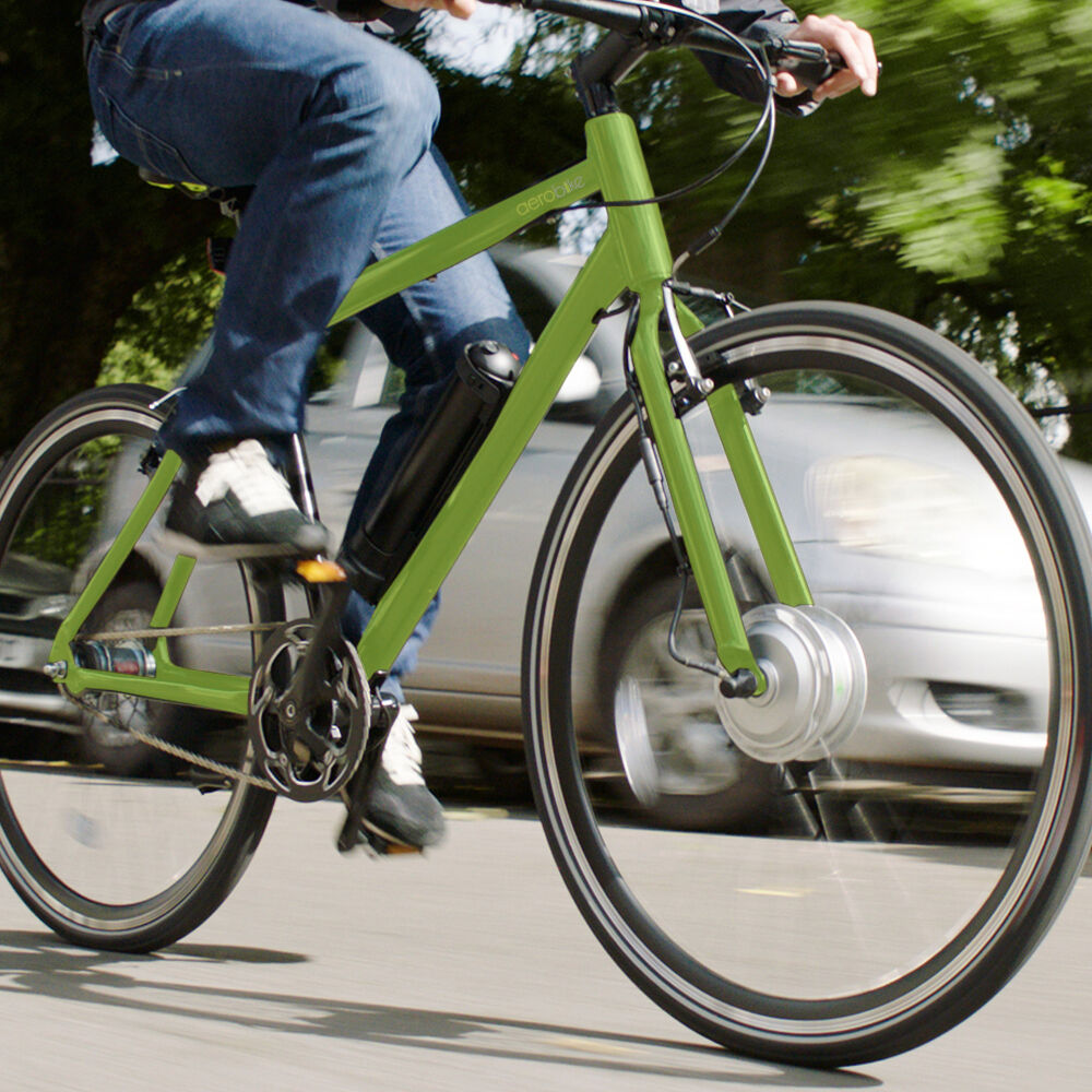 Electric E Bike 36V Lithium-Ion Battery 250W Aerobike X-Ride 28  Wheel 30 Miles