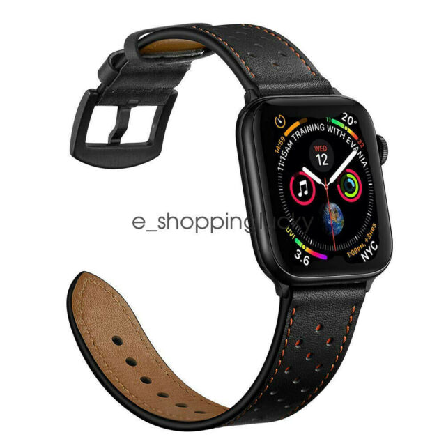Wu188 Apple Watch Band Leather 42mm Version Iwatch Strap Premium Vintage Crazy For Sale Online Ebay