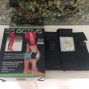 Pressure-Point-Wrap-Sciatica-Knee-Leg-Brace-Acupressure-Sleeve-Pain-Relief-AL