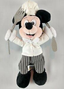 Chef-Mickey-Bean-Bag-Plush-Walt-Disney-World-10-Inch-Stuffed-Theme-Park-Resort