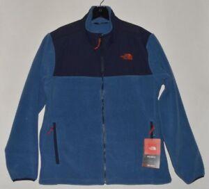 New North Face Men/'s Denali Polartec 300 Fleece Jacket Full Zip Blue L XL XXL
