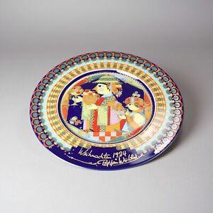 Christmas-Plate-Rosenthal-Holy-3-Kings-Balthasar-Bjorn-Wiinblad-1974-Vz