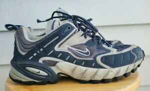 Vintage-NIKE-ACG-Hiking-Climbing-Trail-Mens-Shoes-Boots-Blue-Gray-EUC-Sz-12-US