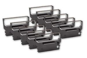 10x Schriftband Kassette für SANYO ECR548 SAMSUNG ER350 ER550