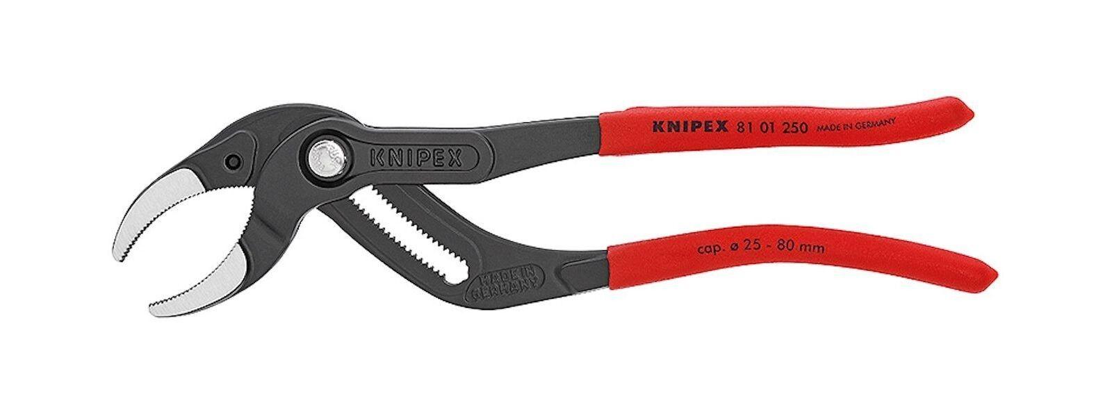 Knipex Sifón Connectorenzange para Siphons Tubos de Plástico Connectore