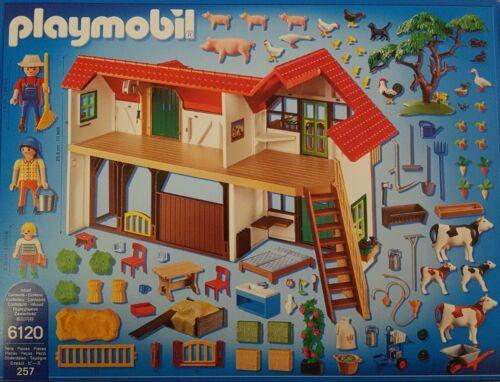 Playmobil 6120 Bauernhof Country 257 teilig Neu//Ovp