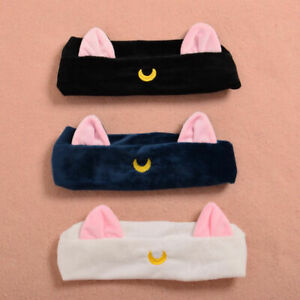 Anime-Sailor-Moon-Ears-Pattern-Hair-Band-Plush-Elastic-Headband-Cosplay-Props