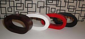 Design-Deko-Vase-Oval-klein-Holz-mit-Glaseinsatz-Mangoholz