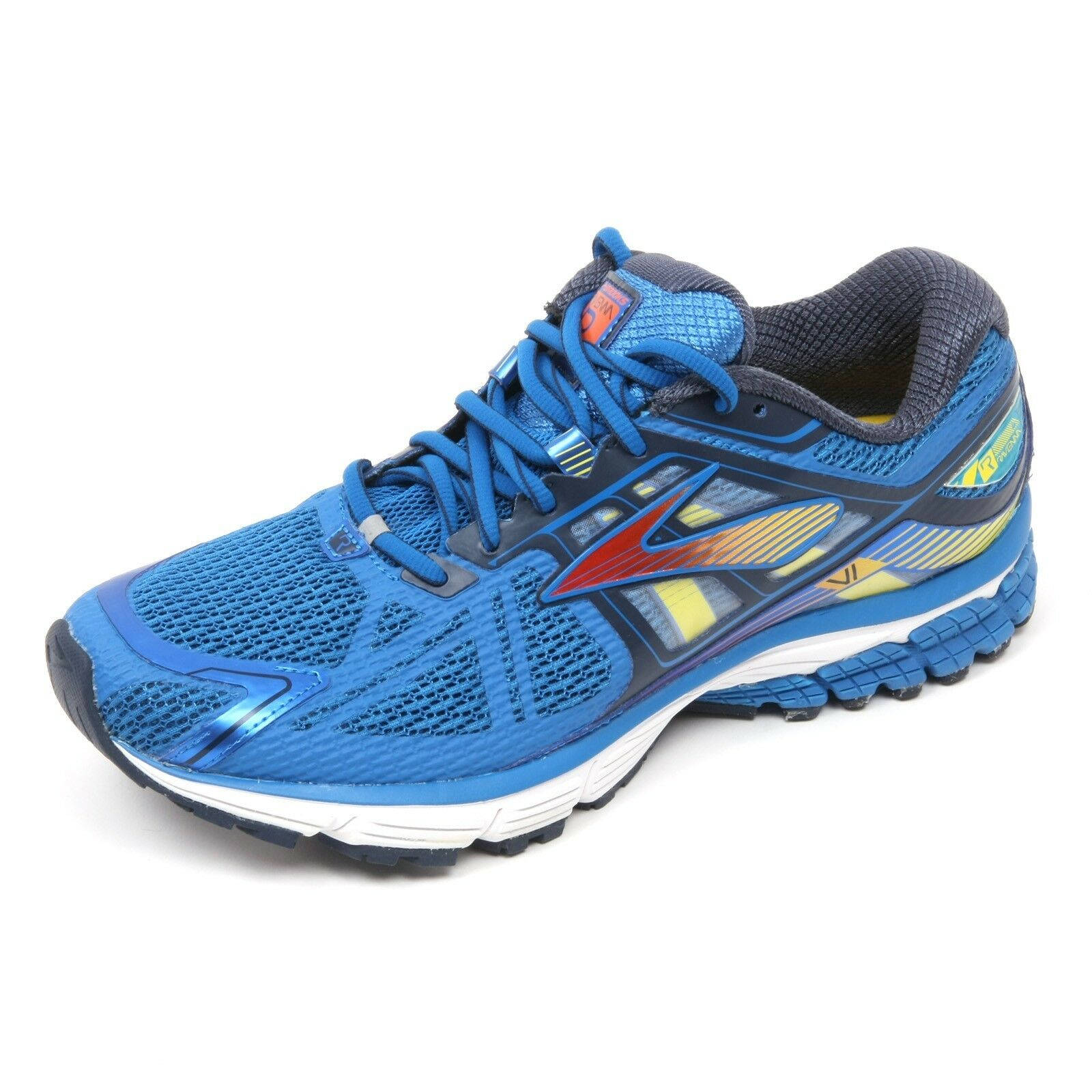 C4758 sneaker azzurro hombre BROOKS RAVENNA 6 Zapatos azzurro sneaker scuro Zapatos Hombre 02d31e