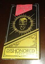 Dishonored Tarot Deck Factory Sealed New NIB Rare Bethesda 2012